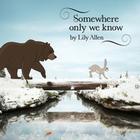 Lily Allen 'Somewhere Only We Know' artwork