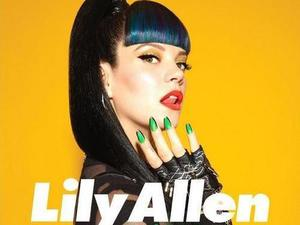 Lily Allen 'Hard Out Here' single artwork.