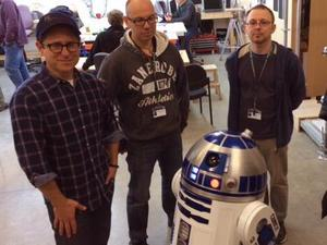 JJ Abrams with R2-D2