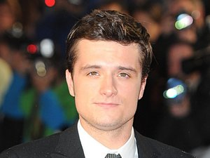 Josh Hutcherson at the World Premiere of The Hunger Games : Catching Fire, at the Odeon Leicester Square, London.