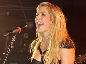 Ellie Goulding performs at G-A-Y