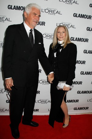 Glamour Women of the Year Awards, New York, America - 11 Nov 2013 Barbra Streisand and James Brolin 11 Nov 2013