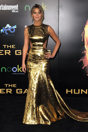 'The Hunger Games' film premiere, Los Angeles, America - 12 Mar 2012 Jennifer Lawrence 12 Mar 2012