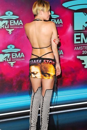 20th MTV Europe Music Awards, Arrivals, Amsterdam, Netherlands - 10 Nov 2013 Miley Cyrus 10 Nov 2013