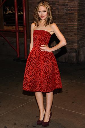 Lena Dunham Glamour Women of the Year Awards, New York, America - 11 Nov 2013