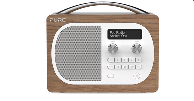 Pure Evoke D4 DAB and FM radio