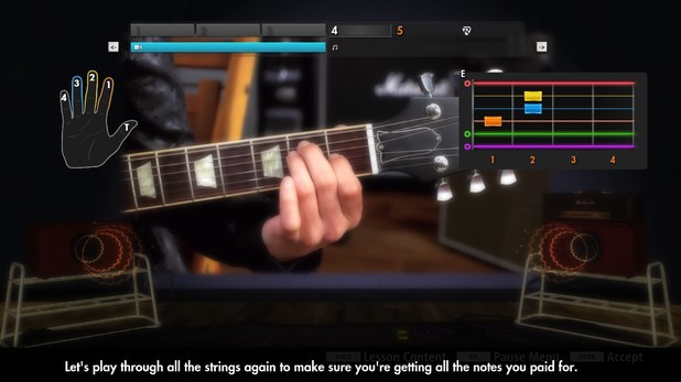 'Rocksmith: 2014 Edition' screenshot