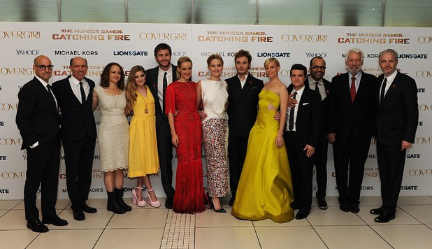 The Hunger Games: Catching Fire cast and crew