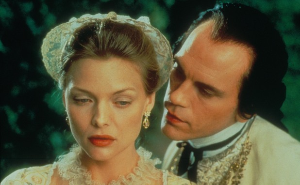 Michelle Pfeiffer, John Malkovich in 'Dangerous Liaisons'