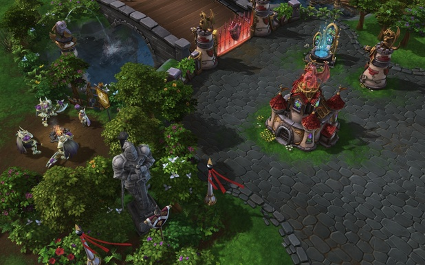 Heroes of the Storm screenshot: Dragon shire