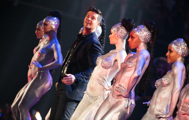 Robin Thicke, MTV EMAs