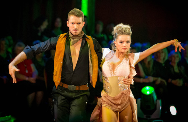 Ashley and Ola dance the Paso Doble