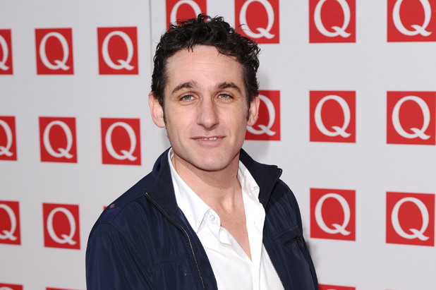 Tom Stade at the 2011 Q Awards, Grosvenor House Hotel, London