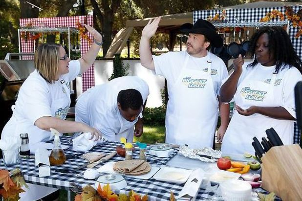 The Tailgate Cook-off on The Biggest Loser S15E05