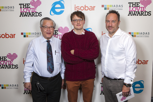 Jimmy Wales, Vic Hayes and Digital Spy