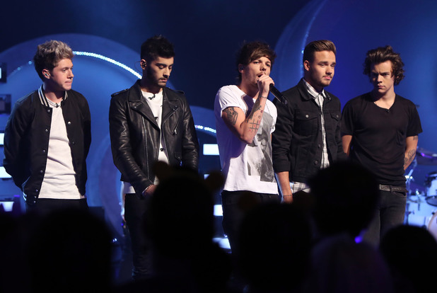 One Direction perform on Children in Need 2013