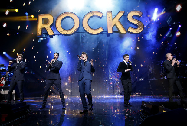 The Wanted perform as part of Children in Need Rocks 2013
