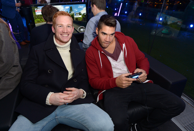 Greg Rutherford and Louis Smith