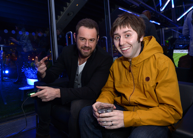 Danny Dyer and James Buckley