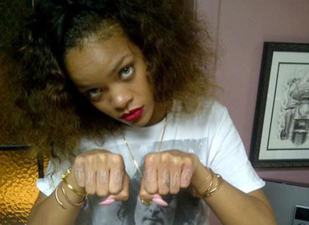 Rihanna thug life