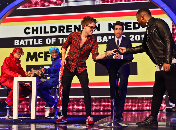 Nick Grimshaw, JLS and McFly