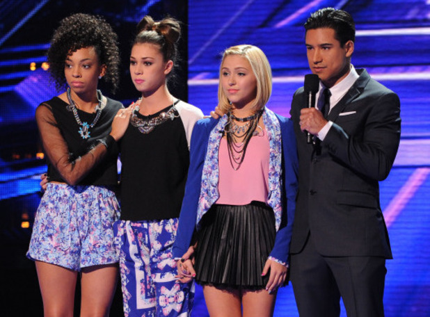 Sweet Suspense are eliminated from The X Factor USA