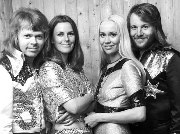 ABBA performing in the Folkets Park in Karlskoga, Sweden - 17 Jun 1973ABBA performing as an unknown band before they were famous 17 Jun 1973