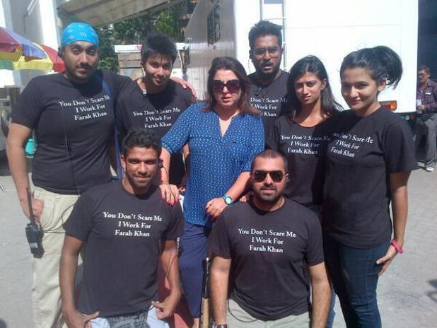 Farah Khan's 'Happy New Year' crew