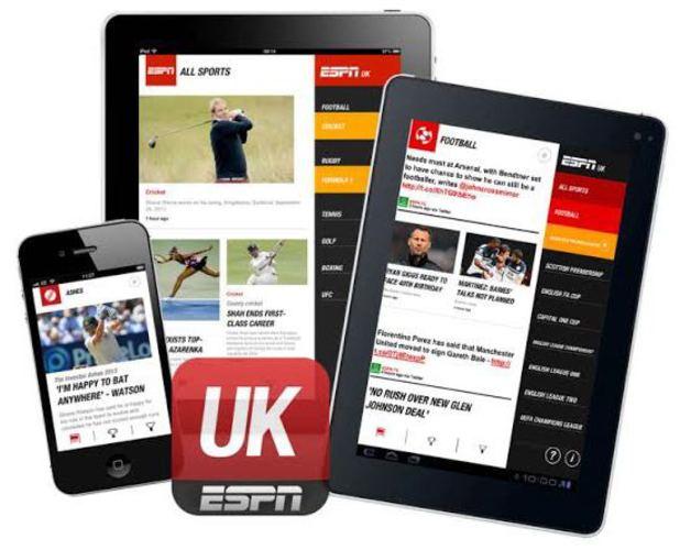 ESPN mobile app