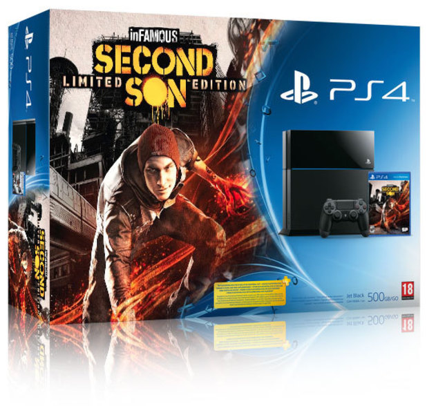 'Infamous: Second Son' PS4 bundle