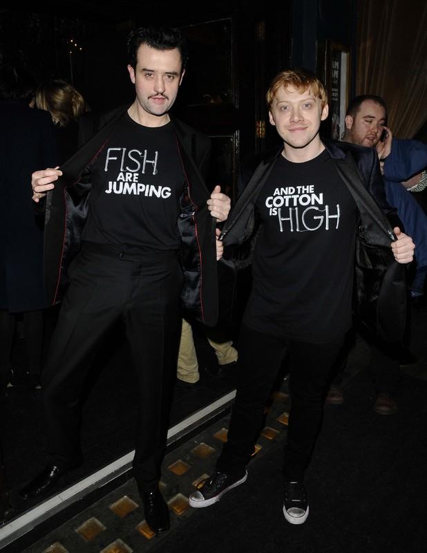 Daniel Mays and Rupert Grint