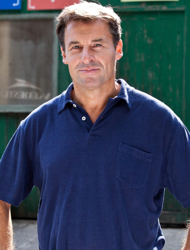 Jesse Birdsall as Fraser Black in Hollyoaks