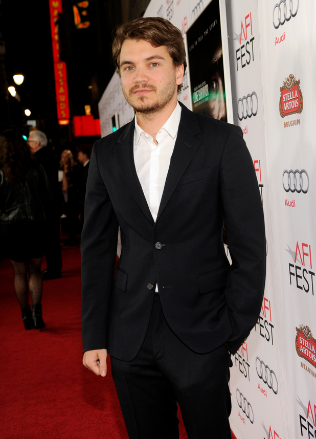 "Emile Hirsch at the AFI FEST premiere of ""Lone Survivor"" at the TCL Chinese Theatre"