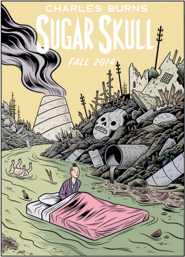 Charles Burns's 'Sugar Skull' teaser