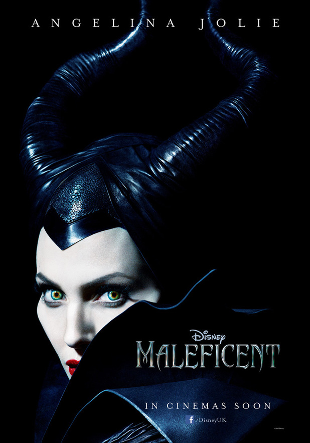 Angelina Jolie in Maleficent poster