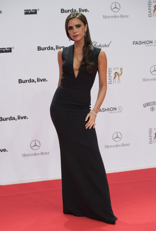 Victoria Beckham at the Bambi 2013 media awards in Berlin