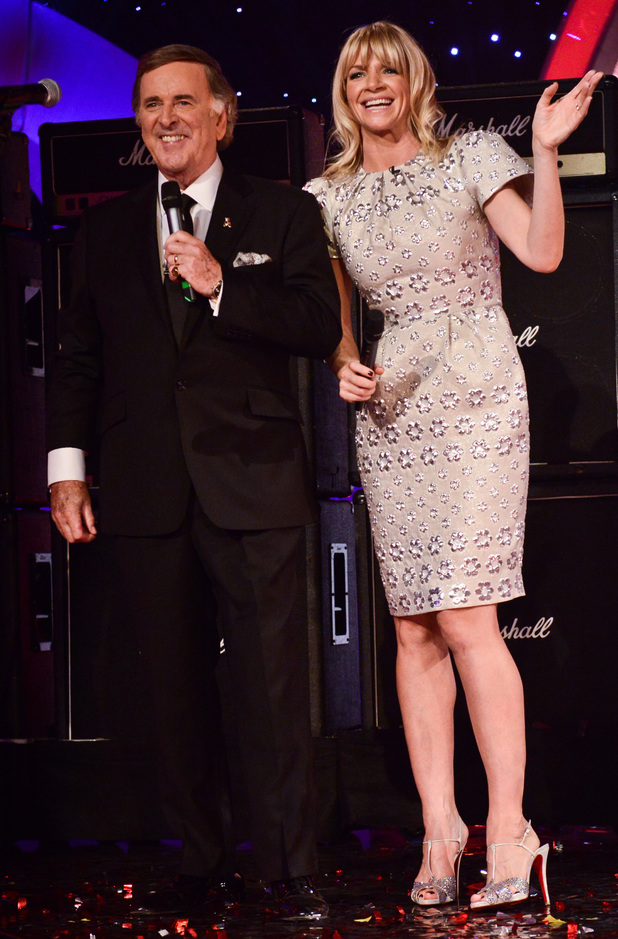 Terry Wogan and Zoe Ball