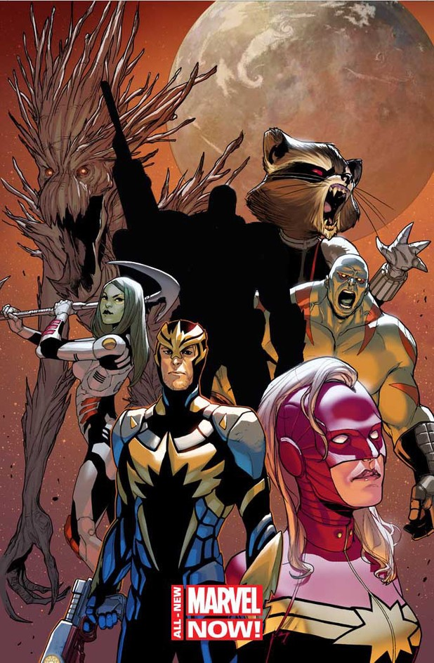 Guardians of the Galaxy Free Comic Book Day 2014 teaser