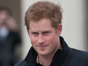 Prince Harry in Trafalgar Square for the Walking With The Wounded departure
