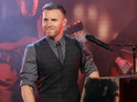 Gary Barlow jokes that his acting skills from Heartbeat helped on his latest video.