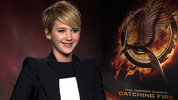 Jennifer Lawrence chats to Digital Spy about making the sequel to The Hunger Games.