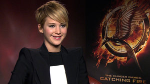 Jennifer Lawrence 'The Hunger Games: Catching Fire' interview