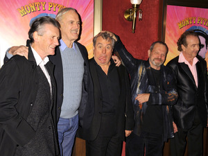 Michael Palin, John Cleese, Terry Jones, Terry Gillian and Eric Idle at the IFC & BAFTA Monty Python 40th Anniversary Event