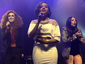 MKS (Mutya Keisha Siobhan) perform live at O2 Shepherd's Bush Empire