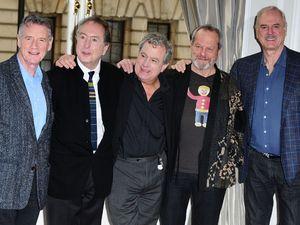 Monty Python reunited: Michael Palin, Eric Idle, Terry Jones, Terry Gilliam and John Cleese - Corinthia Hotel, November 21, 2013