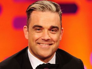 Robbie Williams on the Graham Norton show