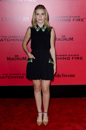 Kiernan Shipka, 'The Hunger Games: Catching Fire' film premiere, Los Angeles, America - 18 Nov 2013