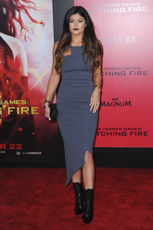 'The Hunger Games: Catching Fire' film premiere, Los Angeles, America - 18 Nov 2013 Kylie Jenner