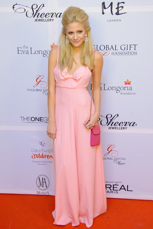 Pixie Lott attending the Eva Longoria Global Gift Gala at ME London in central London.