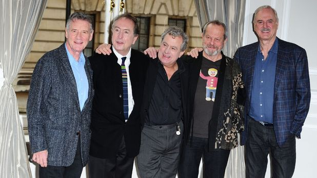 Monty Python reunited: Michael Palin, Eric Idle, Terry Jones, Terry Gilliam and John Cleese - Corinthia Hotel, November 21, 2013